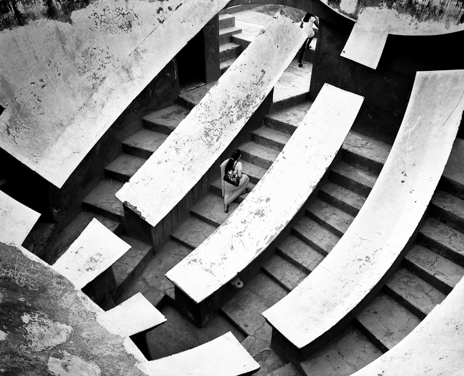 Delhi July 2012 8 2 days in Delhi : Jantar Mantar 1/2 street photography argentique analog