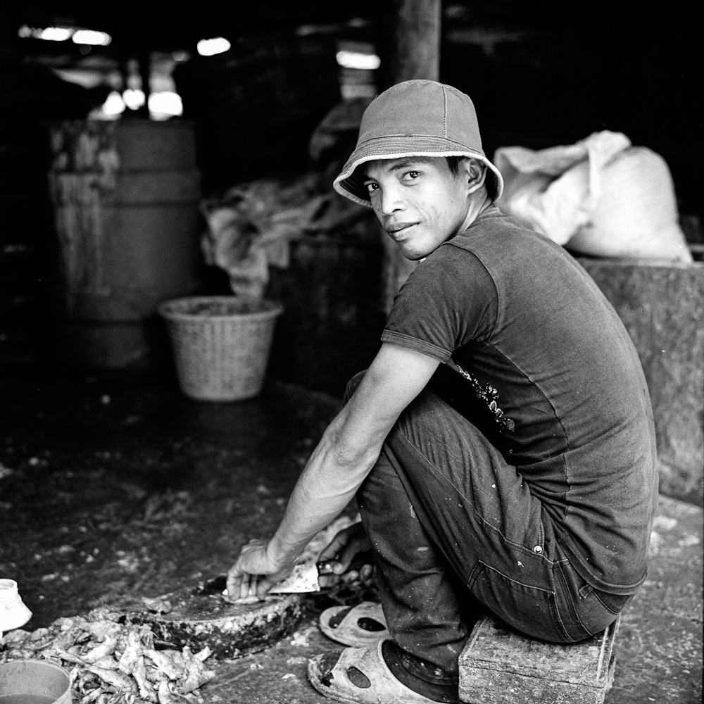 Cambodge pate de poisson 8 Battambang : Prahoc portraits argentique analog