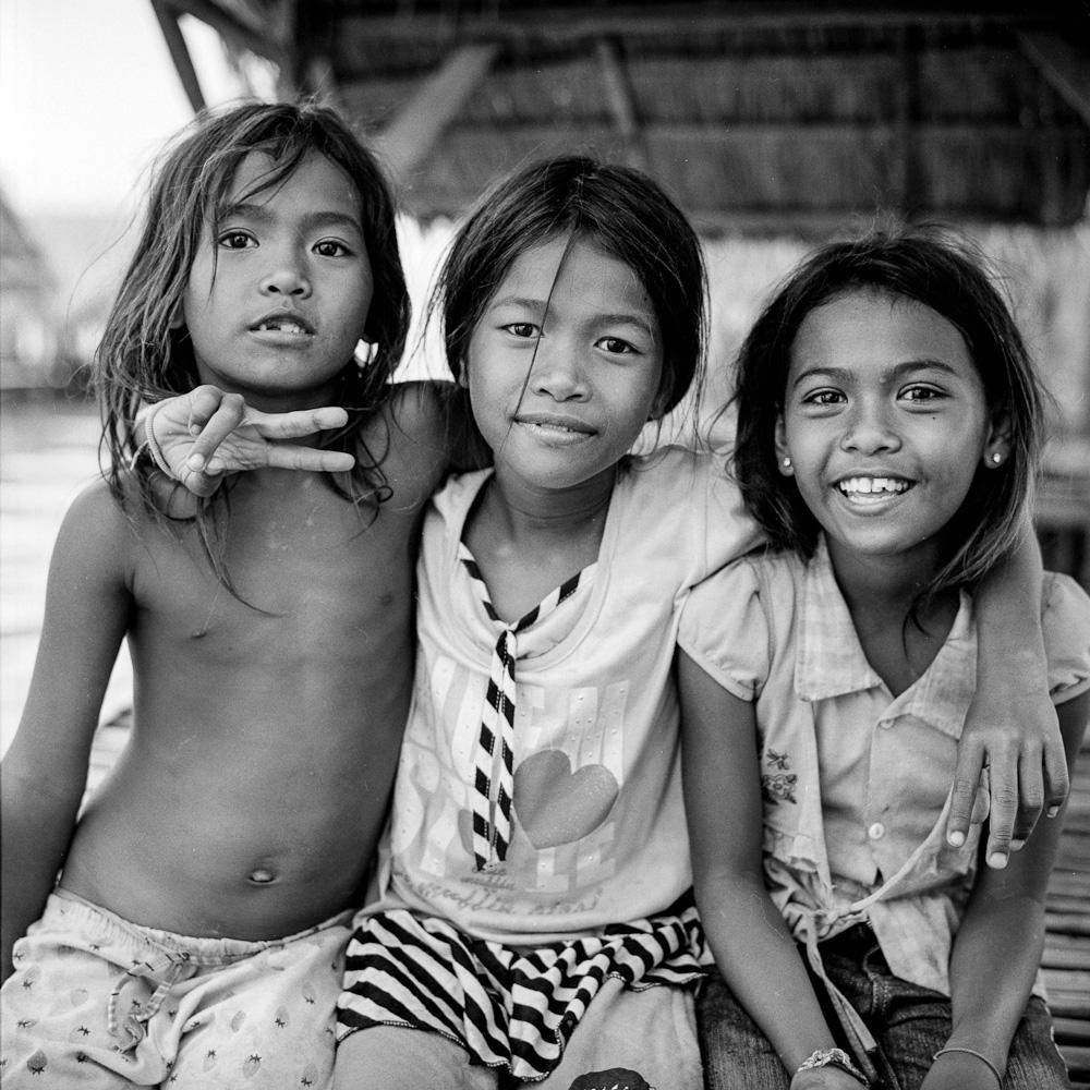 mekong 2 Koh Dach : la paillote  portraits argentique analog