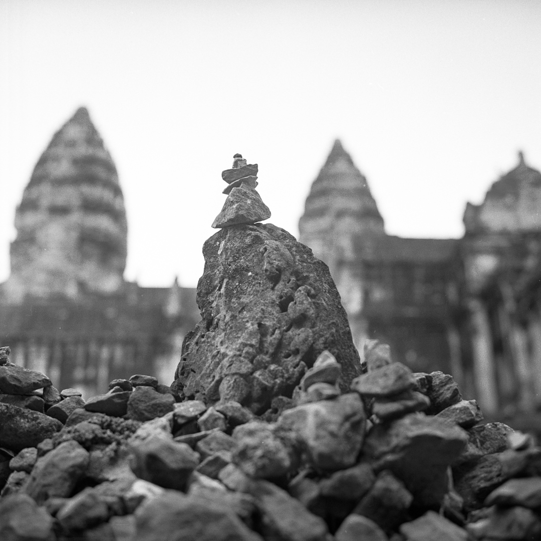 cambodge 1 3 Méditation humeur argentique analog